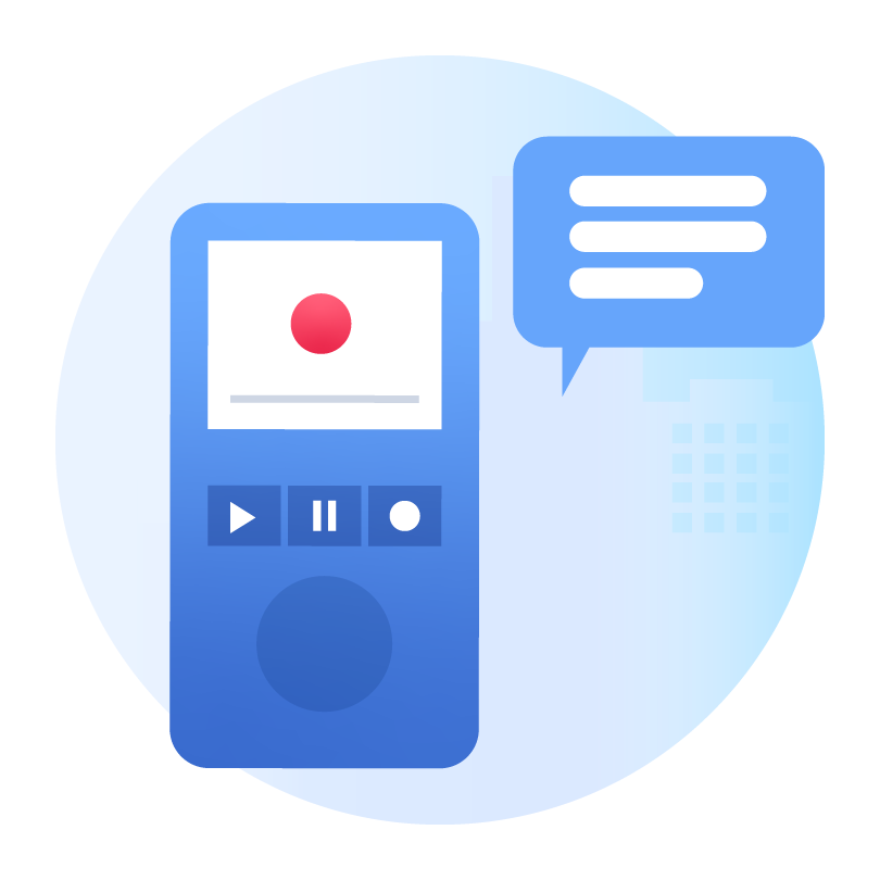 Voice Recorder Recoding about Insurance Claim